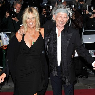 Keith Richards in GQ Men of The Year Awards 2011 - Arrivals - hansen-richards-gq-men-of-the-year-awards-2011-02