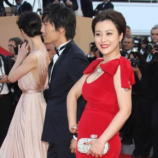 Qin Hao, Hao Lei in Moonrise Kingdom Premiere - During The Opening Ceremony of The 65th Cannes Film Festival