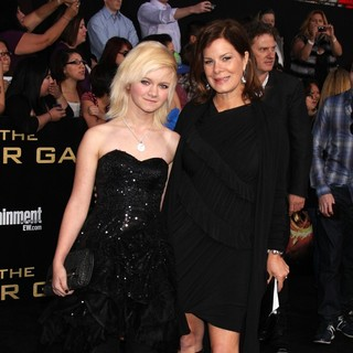 Eulala Scheel, Marcia Gay Harden in Los Angeles Premiere of The Hunger Games - Arrivals