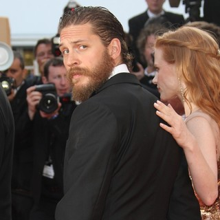 Tom Hardy, Jessica Chastain in Lawless Premiere - During The 65th Annual Cannes Film Festival