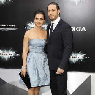 Charlotte Riley, Tom Hardy in The Dark Knight Rises New York Premiere - Arrivals