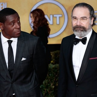 David Harewood, Mandy Patinkin in 19th Annual Screen Actors Guild Awards - Arrivals