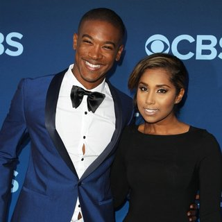 Sergio Harford, Tiffany Perry in CBS Television Presents Extant Premiere Party