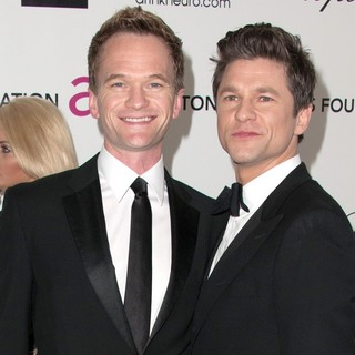 Neil Patrick Harris, David Burtka in The 20th Annual Elton John AIDS Foundation's Oscar Viewing Party - Arrivals