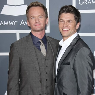 Neil Patrick Harris, David Burtka in 55th Annual GRAMMY Awards - Arrivals