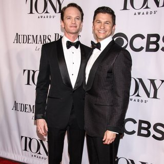 Neil Patrick Harris, David Burtka in The 68th Annual Tony Awards - Arrivals