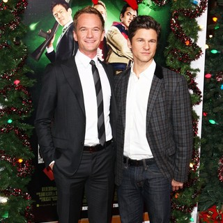 Neil Patrick Harris, David Burtka in The Premiere of A Very Harold and Kumar 3D Christmas