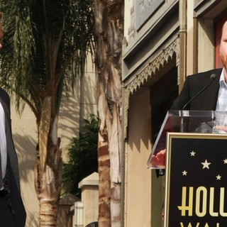Neil Patrick Harris, Joss Whedon in Neil Patrick Harris Hollywood Walk of Fame Induction Ceremony