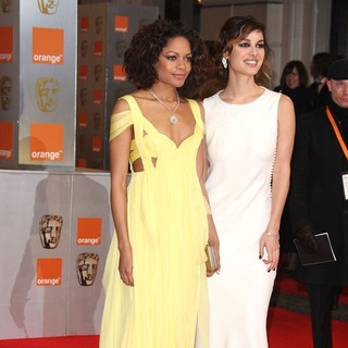 Naomie Harris, Berenice Marlohe in Orange British Academy Film Awards 2012 - Arrivals