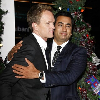 Neil Patrick Harris, Kal Penn in The Premiere of A Very Harold and Kumar 3D Christmas