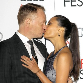 Jared Harris, Allegra Riggio in 2012 AFI Fest - Lincoln Premiere - Arrivals