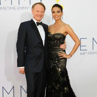 Jared Harris, Allegra Riggio in 64th Annual Primetime Emmy Awards - Arrivals
