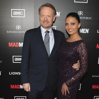 Jared Harris, Allegra Riggio in AMC's Special Screening of Mad Men Season 5 - Arrivals