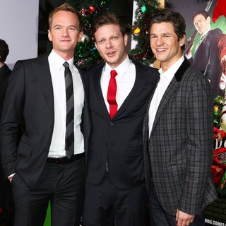 Neil Patrick Harris, Todd Strauss-Schulson, David Burtka in The Premiere of A Very Harold and Kumar 3D Christmas