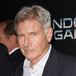Harrison Ford - Premiere Ender's Game