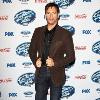 Harry Connick Jr. in FOX's American Idol XIII Finalists Party