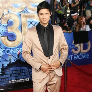 Harry Shum Jr. in The World Premiere of Glee The 3D Concert Movie - Arrivals