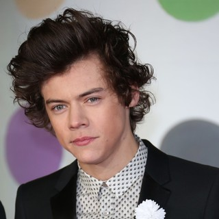 Harry Styles, One Direction in The 2013 Brit Awards - Arrivals
