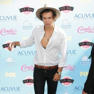 Harry Styles, One Direction in 2013 Teen Choice Awards