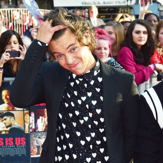 Harry Styles, One Direction in World Premiere of One Direction: This Is Us - Arrivals