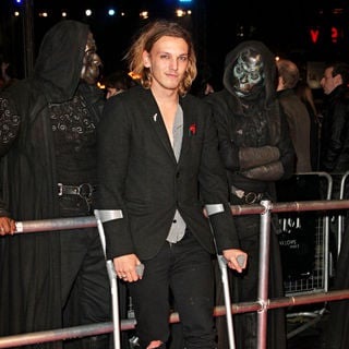 Jamie Campbell Bower in World Premiere of 'Harry Potter and the Deathly Hallows: Part I' - Arrivals