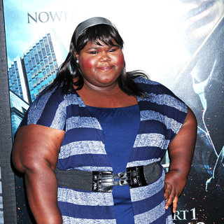 Gabourey Sidibe in The Premiere of 'Harry Potter and the Deathly Hallows: Part I'