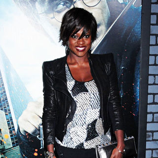 Viola Davis in The Premiere of 'Harry Potter and the Deathly Hallows: Part I'