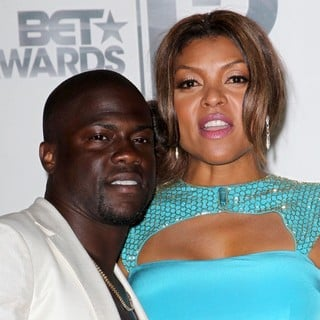 Kevin Hart, Taraji P. Henson in The BET Awards 2012 - Press Room