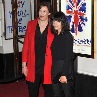 Miranda Hart, Claudia Winkleman in VIVA Forever Spice Girls The Musical - Arrivals