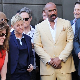 Steve Harvey Is Honoured with A Star on The Hollywood Walk of Fame