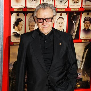 Harvey Keitel in The Grand Budapest Hotel New York Premiere