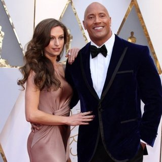 Lauren Hashian, The Rock in 89th Annual Academy Awards - Arrivals