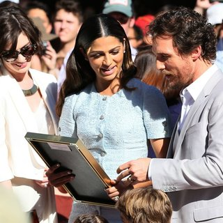 Matthew McConaughey Honored with A Star on The Hollywood Walk of Fame