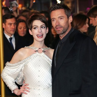 Anne Hathaway, Hugh Jackman in Les Miserables World Premiere - Arrivals