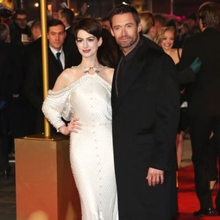 Les Miserables World Premiere - Arrivals - hathaway-jackman-uk-premiere-les-miserables-02