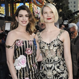 Anne Hathaway, Mia Wasikowska in Premiere of Disney's Alice Through the Looking Glass