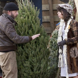 Paul Giamatti, Sally Hawkins in Filming on Location The Comedy Movie Lucky Dog