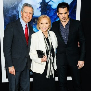 Jeffrey Hayden, Eva Marie Saint, Colin Farrell in Winter's Tale World Premiere