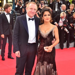 Francois-Henri Pinault, Salma Hayek in Madagascar 3: Europe's Most Wanted Premiere- During The 65th Cannes Film Festival