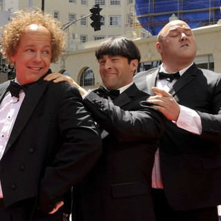 Sean Hayes, Chris Diamantopoulos, Will Sasso in The World Premeire of The Three Stooges - Arrivals