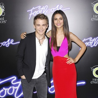 Hunter Hayes, Victoria Justice in Los Angeles Premiere of Footloose