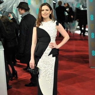 Hayley Atwell in The 2013 EE British Academy Film Awards - Arrivals