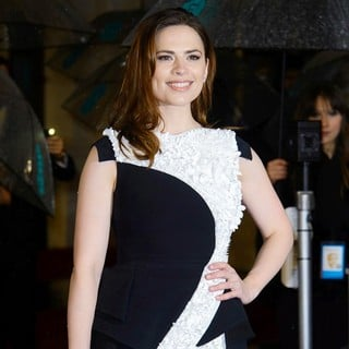 Hayley Atwell in The 2013 EE British Academy Film Awards - Arrivals - hayley-atwell-2013-ee-british-academy-film-awards-02