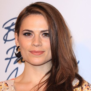 Hayley Atwell in British Fashion Awards 2011 - Arrivals - hayley-atwell-british-fashion-awards 2011-01