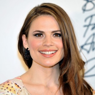 Hayley Atwell in British Fashion Awards 2011 - Press Room - hayley-atwell-british-fashion-awards-2011-press-room-01