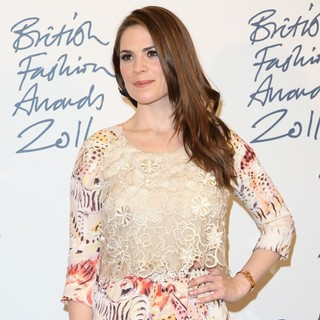 Hayley Atwell in British Fashion Awards 2011 - Press Room - hayley-atwell-british-fashion-awards-2011-press-room-02