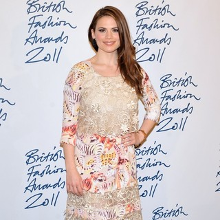 Hayley Atwell in British Fashion Awards 2011 - Press Room - hayley-atwell-british-fashion-awards-2011-press-room-03