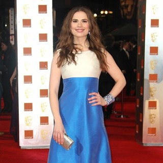 Hayley Atwell in Orange British Academy Film Awards 2012 - Arrivals - hayley-atwell-orange-british-academy-film-awards-2012-04