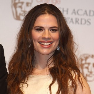 Hayley Atwell in Orange British Academy Film Awards 2012 - Press Room - hayley-atwell-orange-british-academy-film-awards-2012-press-room-01