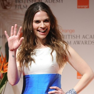 Hayley Atwell in Orange British Academy Film Awards 2012 - Press Room - hayley-atwell-orange-british-academy-film-awards-2012-press-room-02